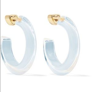 Alison Lou small lucite hoops